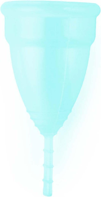 Aneer® - Cup - Copa menstrual Home Fabricada en Silicona de Grado Médico Reusable - Talla L - Azul