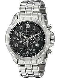 Men's 78256 GST Chrono Black Dial Steel Bracelet Watch