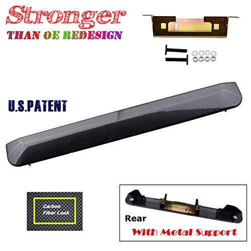 For 04-06 Scion xb 1.5L Chrome Liftgate Tailgate Handle Garnish Hatch Carbon Fiber 04 05 06