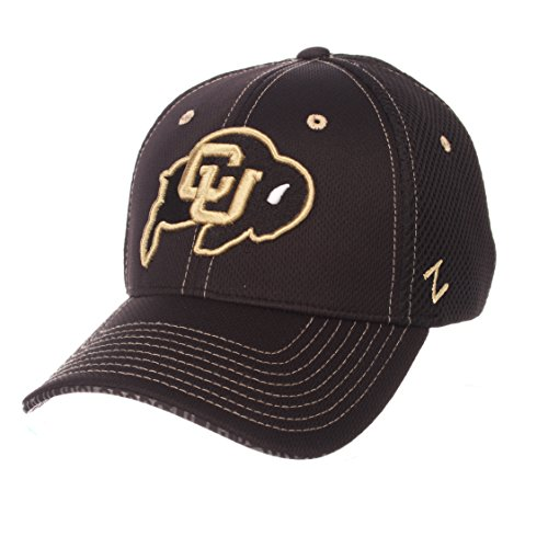(Zephyr NCAA Colorado Buffaloes Men's Undertaker Hat, X-Large, Black)