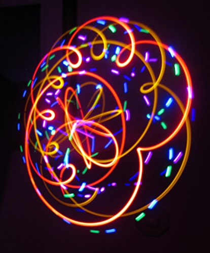 Fever Dream - Orbital Rave Light Toy - LED Orbit Spinning Light Show by Rob's Super Happy Fun Store