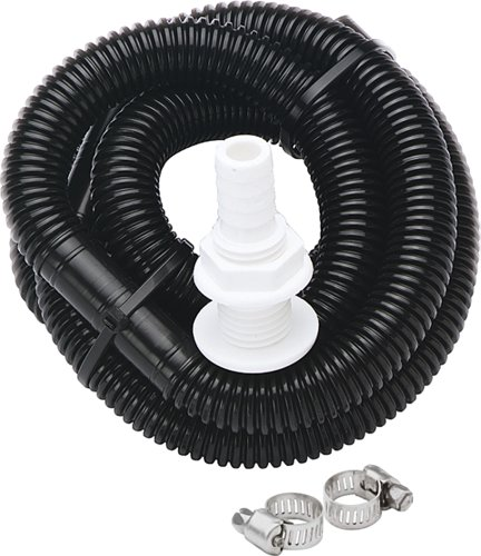 Seasense Bilge Pump - SeaSense Bilge Pump Plumbing Kit 1-1/8 X 6 Foot