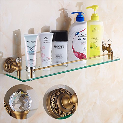 LAONA All European antique bronze ribbon drill, bathroom fittings, paper reel, soap box,Rack 1 by LINA bathroom accessories (Image #5)
