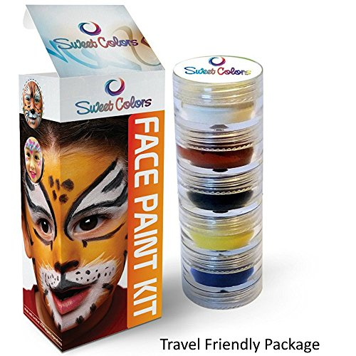 Organic Face Paint Kit For Kids The Best Non Toxic Face