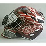 Dominik Hasek Autographed Signed Full Size Goalie Mask Detroit Red Wings - JSA Certified - Autographed NHL Helmets and Masks