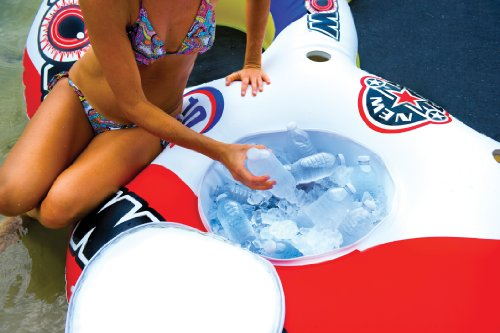 WOW World of Watersports, 13-2060 Tube A Rama, 10 Person Inflatable Floating Island, 12 Foot Diameter by WOW Sports (Image #3)