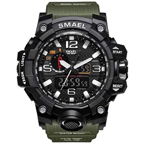 SMAEL Men's Watch Analogue Quartz with Plastic Strap 1545