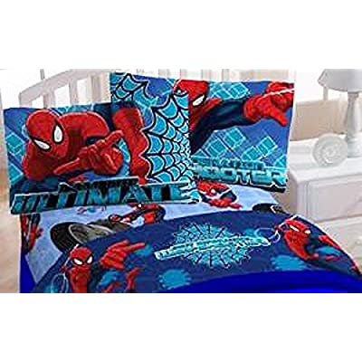 Marvel Ultimate Spider-Man Twin Sheet Set: Home & Kitchen