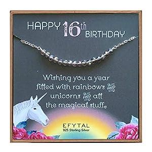 Sweet 16 Unicorn Necklace