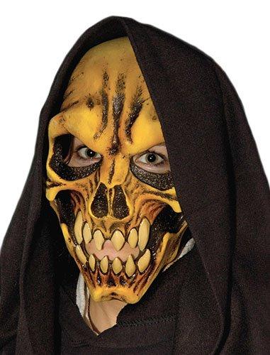 Zagone Dem Bones Mask, Yellow Demon Skull ()