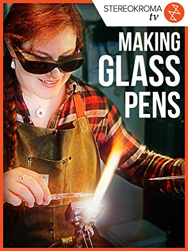 Making Glass Pens (Used Tupperware)