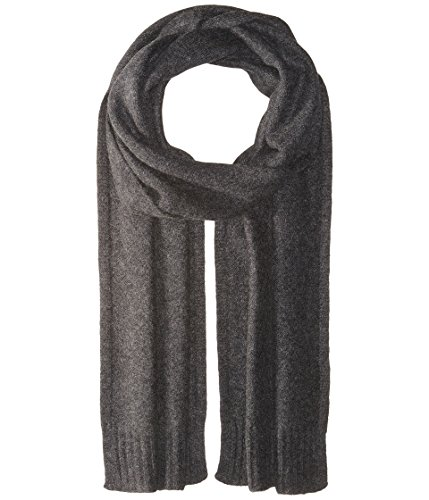 Vince  Men's Cashmere Scarf Heather Carbon One Size by Vince