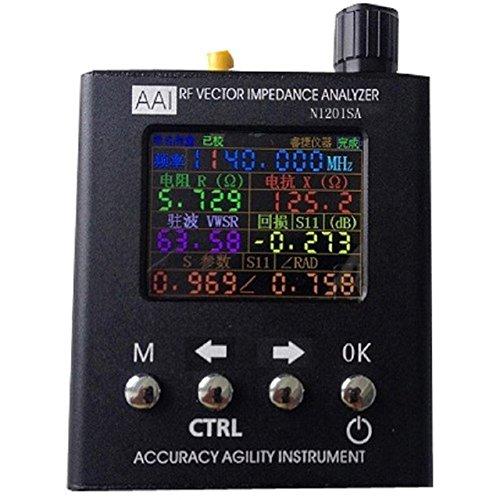 English verison N1201SA Plus Version N1201SA+ UV RF Vector Impedance ANT SWR Antenna Analyzer Meter Tester 35MHZ-2.7GHz Resistance/impedance/SWR