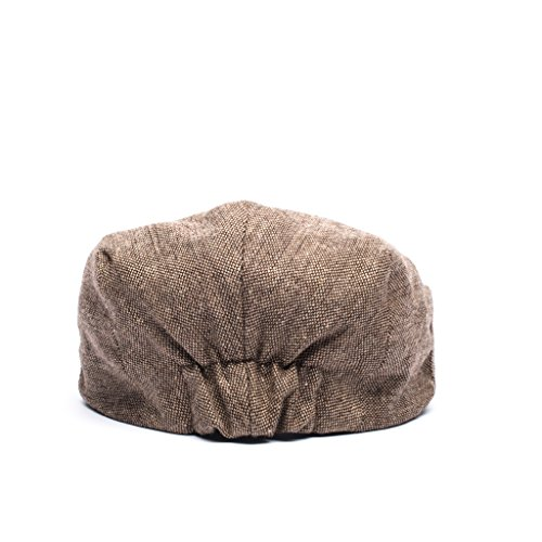 Born to Love - Baby Boy's Hat Vintage Driver Caps (XL 56cm (6-8 yrs), tan with Bow) by Born to Love (Image #3)