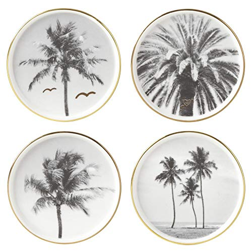 Kate Spade New York Spirit of Adventure Set 4 Porcelain Coasters