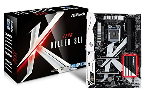 Asrock Z270 Killer SLI1151 ATXHDMI/DV 2xD3 1600 USB3 SATA3, Z270_Killer_SLI (2xD3 1600 USB3 SATA3)