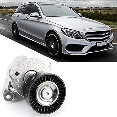 Car Auto Belt Tensioner Assembly +Pulley Premium Quality Compatible with Mercedes Benz 2722000270,C230, C250, C280, etc.: Automotive