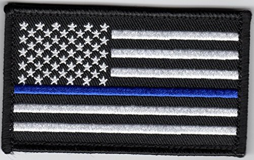 Eagle Crest Thin Blue Line American Flag 2