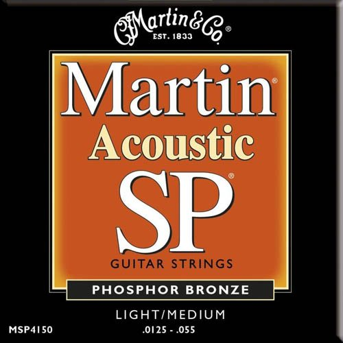 Martin MSP4150 SP Phosphor Bronze Acoustic Guitar Strings review