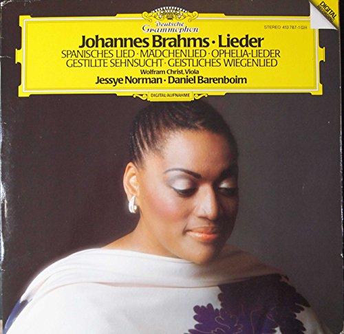 Brahms: Lieder: Spanisches Lied; Madchenlied; Ophelia-Lieder; Gestilite Sehnsucht; Geistiches Wiegenlied (LP Record) ()