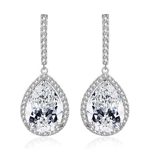 crystal bridal earings - 5