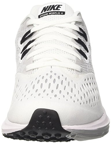 Blanc WMNS Loup Running Winflo Zoom Blanc de Nike Chaussures 4 Femme Noir Gris axqwfz4zn