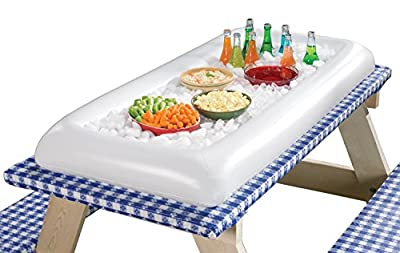 Sorbus® White Inflatable Serving Bar With Drain Plug