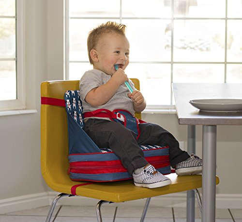 JJ Cole Fire Dogs Feeding Seat, White/Red/Blue/Black by JJ Cole (Image #2)
