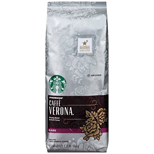 Which are the best starbucks coffee verona whole bean decaf available in 2020?