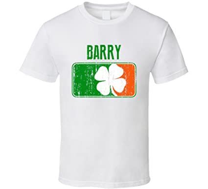 Barry Distressed Ireland Irish Family Custom St Patricks Day