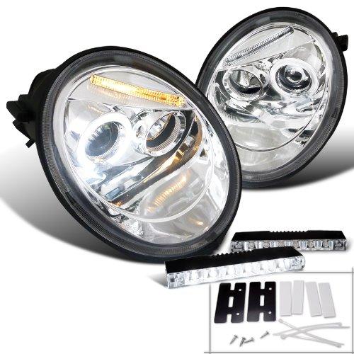 Beetle Chrome Clear Projector Headlight