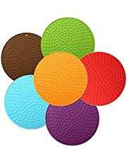 Large Silicone Trivet Mat Teapot Trivet – Coffee Pot Mat Silicone Hot Pot Holder for Table Large Silicone Kitchen Hot Pads for Table Silicone Heat Resistant Mat Kitchen Pot Trivet Large