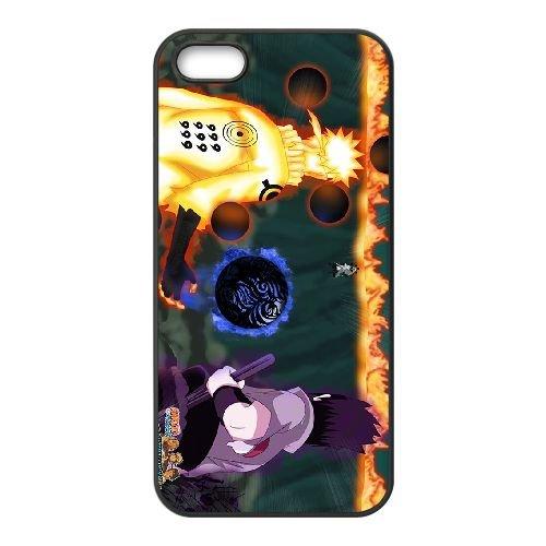 C6A28 Naruto F6K2PY coque iPhone 4 4s cellule de cas de téléphone couvercle coque noire XB7NUR7YD