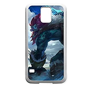 Trundle-001 League of Legends LoL case cover Samsung Galaxy Note3 - Rubber White