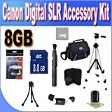 Canon Digital SLR Camera 8GB SDHC Deluxe Accessory Saver Kit, Best Gadgets