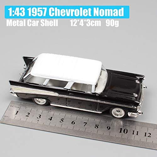 - Wildy CCA 1:43 Scale Mini Old 1957 Gm Nomad Station Wagon Van Hardtop Sedan Metal Cars Model Auto Toy Gift Replica