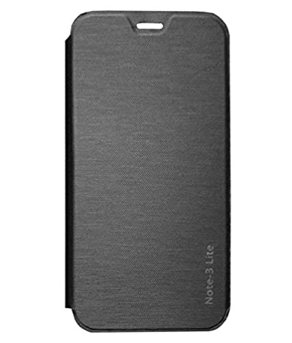 quality design 80d56 4ad35 RRTBZ Flip Cover Case for Coolpad Note 3 Lite -Black: Amazon.in ...