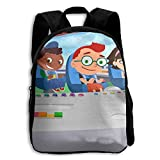 Little Einsteins Functional Design For Students School Backpack Children Bookbag Perfect For Transporting For Traveling In 4 Season