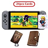 24 pcs The Legend of Zelda NFC Cards, Link's Awakening - Breath of The Wild Game Items Cards. Switch/Lite Wii U: more info