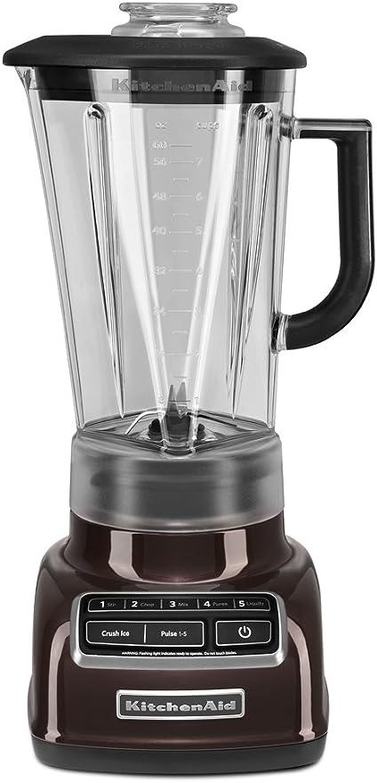 KitchenAid KSB1575 Batidora de vaso 1.7L Café expreso - Licuadora (1,7 L, Batidora de vaso, Café expreso, Metal, Acero inoxidable, 228,6 mm): Amazon.es: Hogar