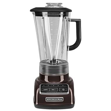 KitchenAid KSB1575ES 5-Speed Diamond Blender with 60-Ounce BPA-Free Pitcher - Espresso