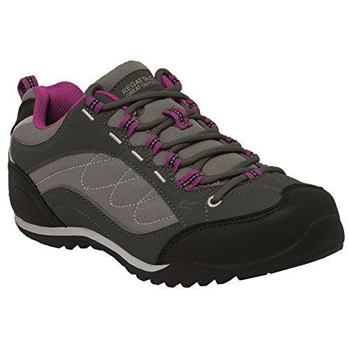 Regatta - Zapatos para montaña modelo Eastmoor para mujer azul/gris