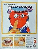 United Fruit Company, 50's Print ad. Full page Color Illustration (Chiquita Banana Girl) Authentic original Vintage 1956 McCall's Magazine Print Art