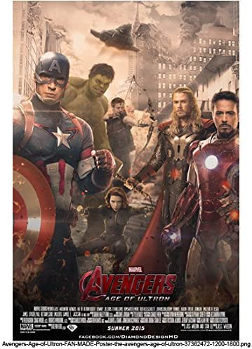 Avengers Age Of Ultron 2015 8 Inch By 10 Inch Photograph Movie Poster Kn At Amazon S Entertainment Collectibles Store