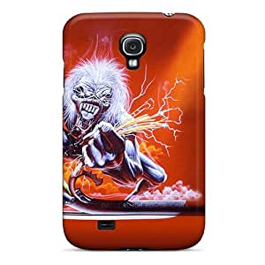 Protective Hard Cell-phone Cases For Samsung Galaxy S4 With Customized Fashion Iron Maiden Series CristinaKlengenberg