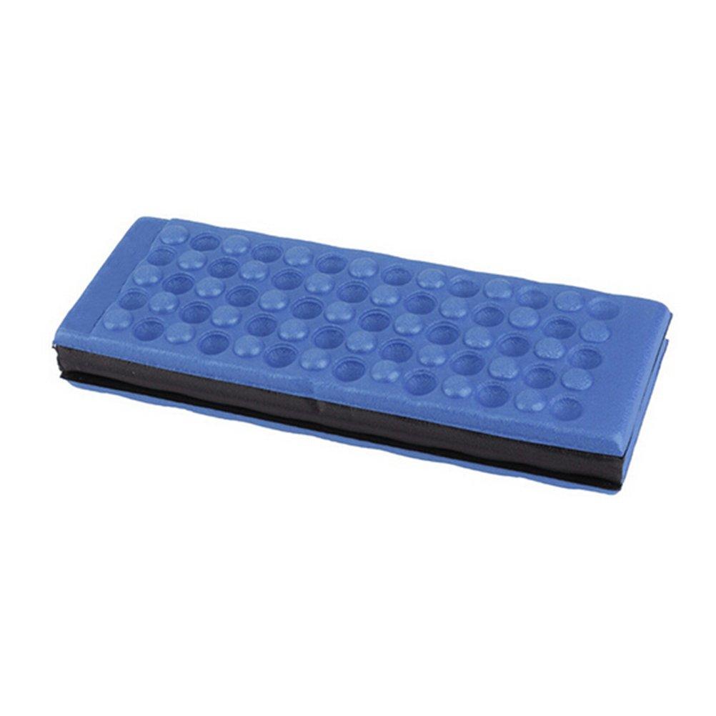 WINOMO Tappetino Pieghevole Impermeabile per Picnic Campeggio Giardino Cuscino Sedile Schiuma Blu