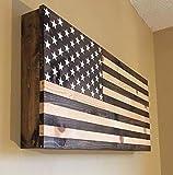Stained Wooden Hidden Gun Cabinet