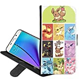 Samsung Galaxy J3 Emerge (2017) Wallet Case of Pokemon PU Leather Folio Flip Wallet Case Cover with ID Credit Card Holder with Stand Wallet cover+ Thewart_Eight Stylus Pen (#13)