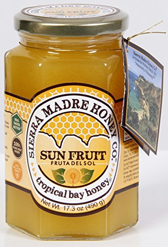 Sun Fruit ''Fruta del Sol'' Tropical Bay Honey 17.3 oz by Sierra Madre Honey Co.