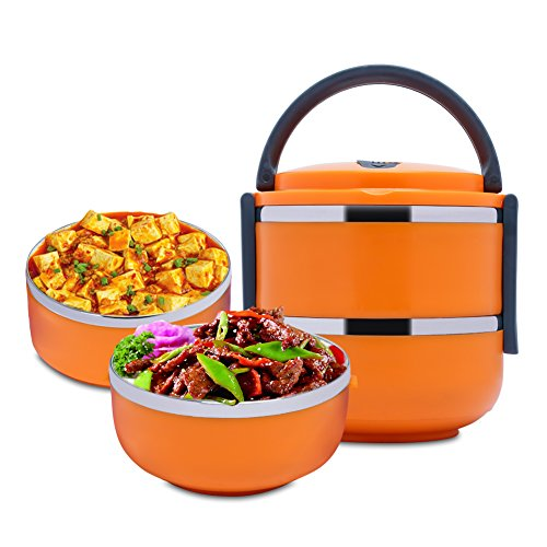 Stacking Containers Tiffin Stainless Interior Orange product image